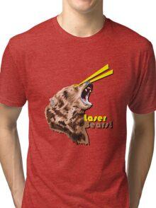 Laser Bears Tri-blend T-Shirt
