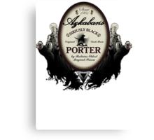 Azkaban's Siriusly Black Porter Canvas Print