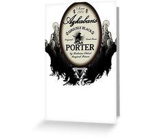 Azkaban's Siriusly Black Porter Greeting Card