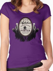 Azkaban's Siriusly Black Porter Women's Fitted Scoop T-Shirt