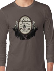 Azkaban's Siriusly Black Porter Long Sleeve T-Shirt