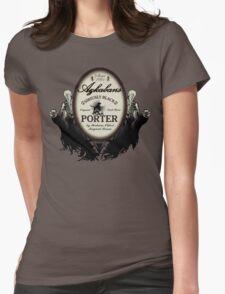 Azkaban's Siriusly Black Porter Womens Fitted T-Shirt