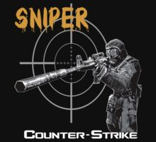 counter-strike sniper by hottehue