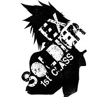 Cloud Strife ex-SOLDIER Photographic Print