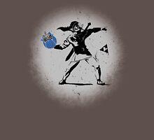 Throwing Bomb Flower Unisex T-Shirt
