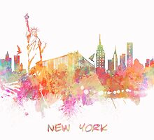 New York skyline  by JBJart