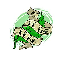 Be The Leaf Photographic Print