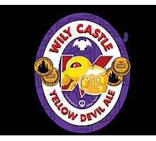 Wily Castle Yellow Devil Ale Photographic Print