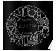 Earthly Cycles - Astro HOUSE Cycles Poster