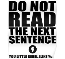 You Little Rebel Poster