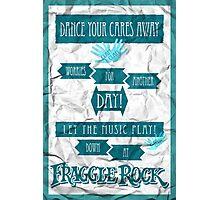 Fraggle Rock - Teal Photographic Print