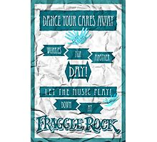 Fraggle Rock - Teal Photographic Print