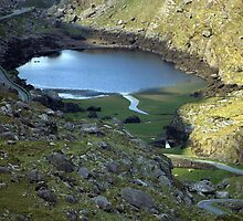 Gap of Dunloe lake by John Quinn