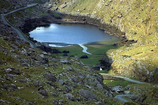 Gap of Dunloe lake by John Quinn