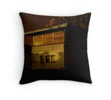 Boarded up to be Forgotten Throw Pillow