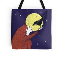 Raven and Fox Tote Bag