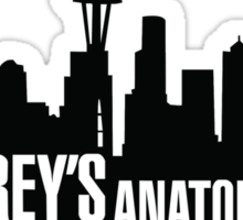 Grey's Anatomy Sticker
