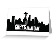 Grey's Anatomy Greeting Card