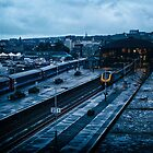 The Railway Station by PlanetPenwith