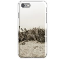Jetties Fence  iPhone Case/Skin