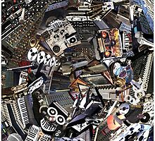 Analogue Technodelic, Sound Engineering Collage by O O