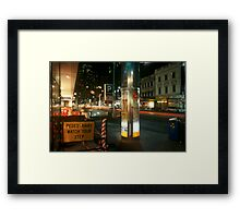 Swanson Street Framed Print
