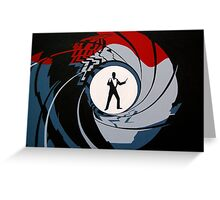 007- James Bond Greeting Card