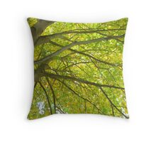 Tree Tops Throw Pillow