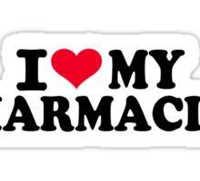 I love my Pharmacist Sticker