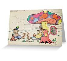 hillbilly breatime Greeting Card