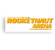 Rocketnaut Arena Canvas Print