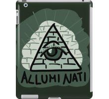 Alluminati iPad Case/Skin