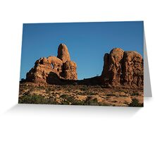 Hikers in Arches Greeting Card