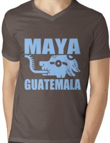 MAYA GUATEMALA Mens V-Neck T-Shirt