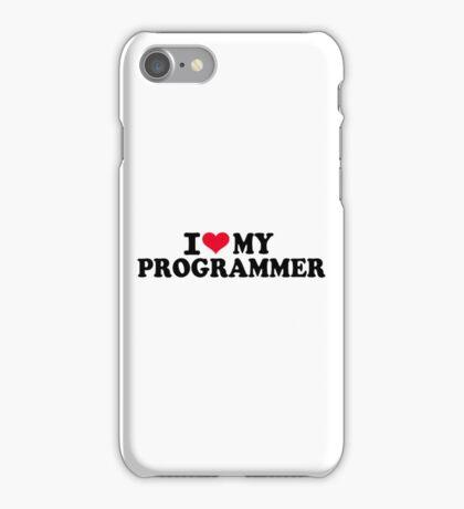 I love my Programmer iPhone Case/Skin