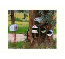 You've Got mail. Art Print