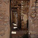 Hallway - Cadelga Ruins by Jeff Catford