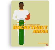 Space Hero One RocketNaut Arena Promo Canvas Print