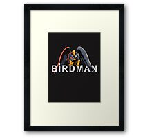 BIRDMAN (or The Unexpected Virtue of Ignorance) Framed Print
