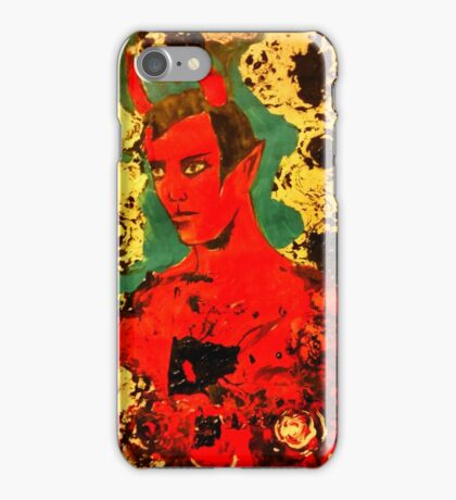 St Horny  iPhone Case/Skin