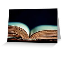 Tell Me A Tale Greeting Card