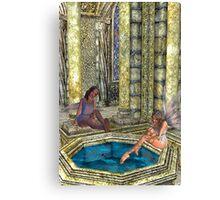 The Bath Canvas Print