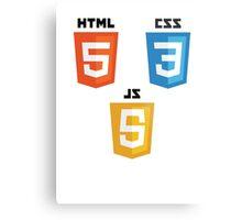 HTML5 Metal Print