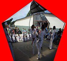 taekwondo demo by nikki newman