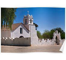 Church, San Pedro de Atacama, Chile Poster