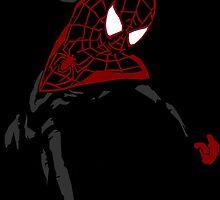 Miles Morales Ultimate Spider-Man by kindigo