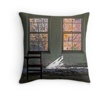 Ethereal Education & Fleeting Foliage Throw Pillow