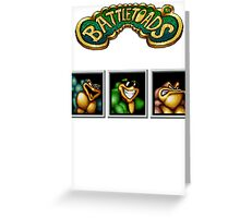 Battletoads Greeting Card