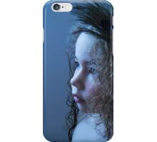 feather in the hair iPhone Case/Skin