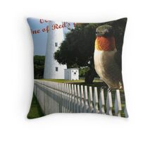 Ocracoke Red... Throw Pillow